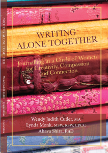 Part memoir, part writing practice, part inspiration, Writing Alone Together invites readers to experience journal writing as a communal practice for creativity, compassion, and connection. https://womenwritingwjc.wordpress.com/writing-alone-together/